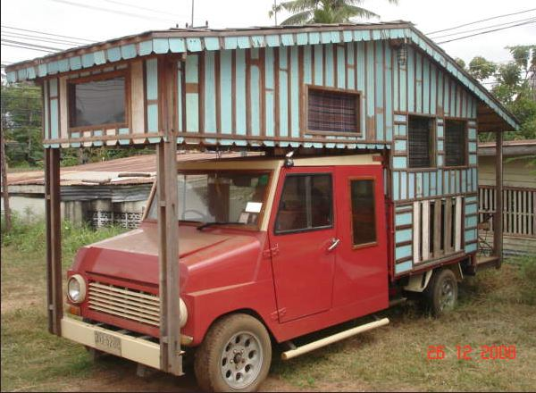 Campervan Thailand (D.I.Y.)